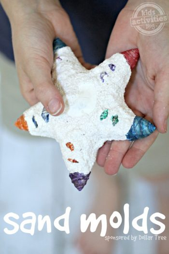 Sand Molds - sand casting at home - Kids Activities Blog