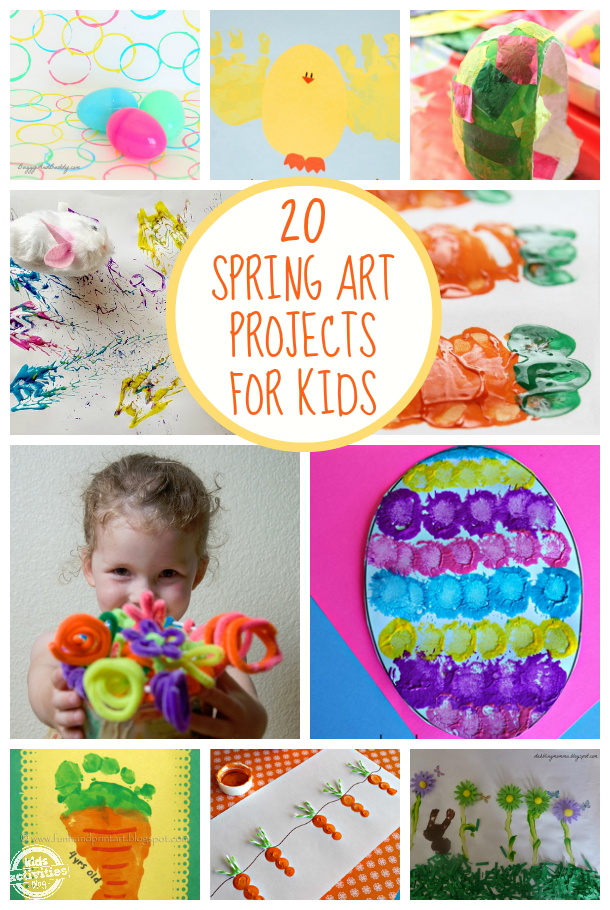 20 Spring Art Projects