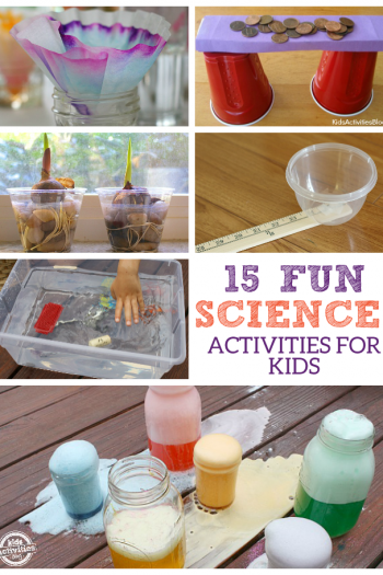 15 Fun Science Activities for Kids