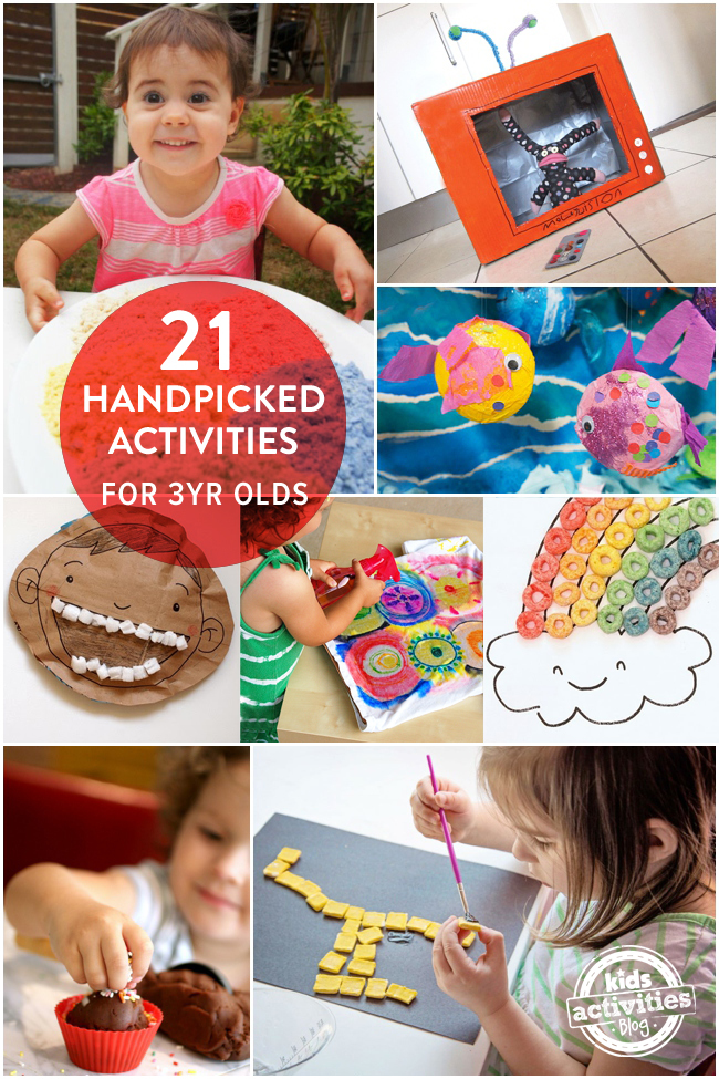 21 Handpicked Fun Activities For 3 Year Olds That They Will Love