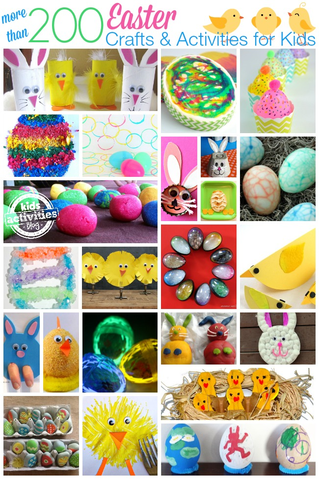 more than 200 easter crafts and activities for kids