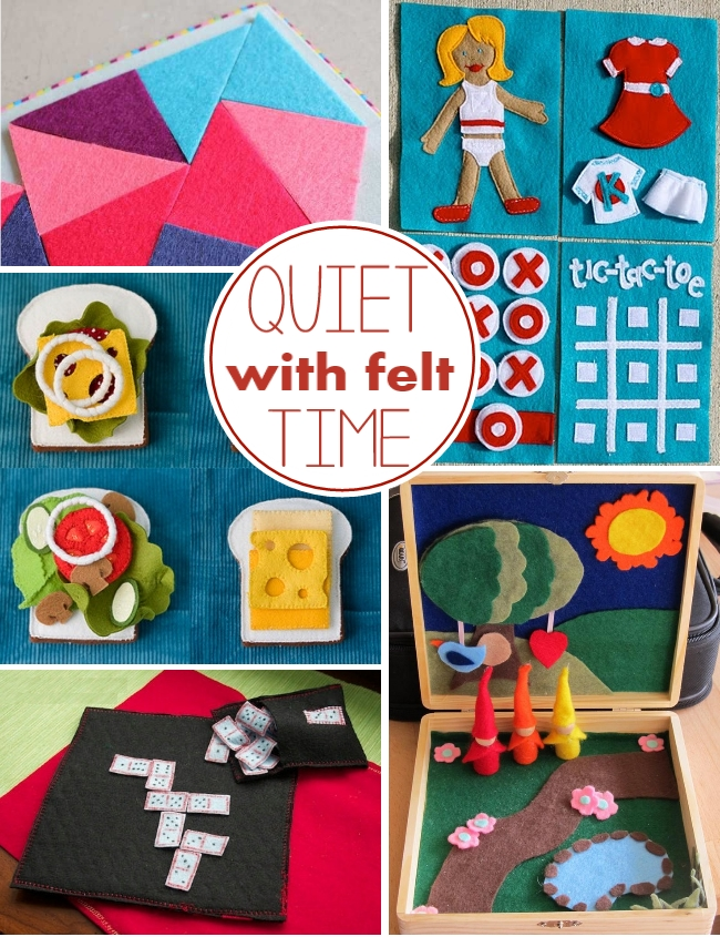 quiet time felt activities