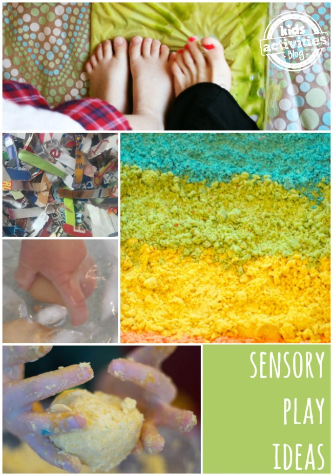 sensory play ideas - Kids Activities Blog