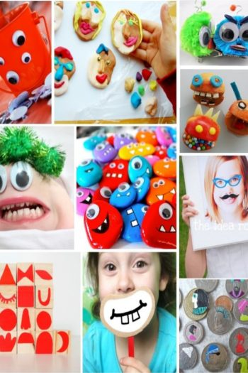 silly crafts for kids