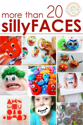 silly faces make kids smile
