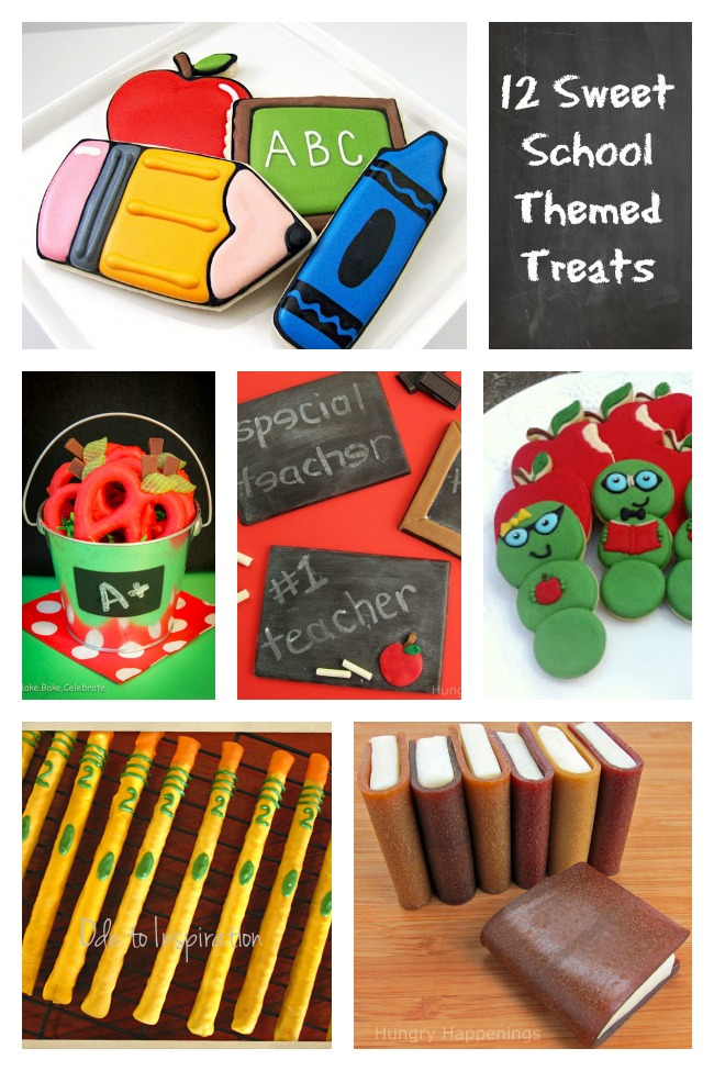 12 Sweet School Themed Treats to Celebrate the End of the Year