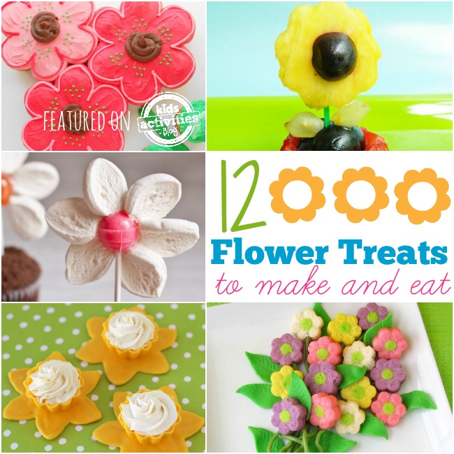 12 flower treats to make and eat