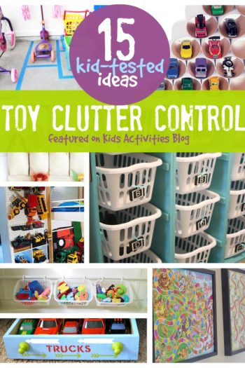 15 kid-tested ideas for toy clutter control