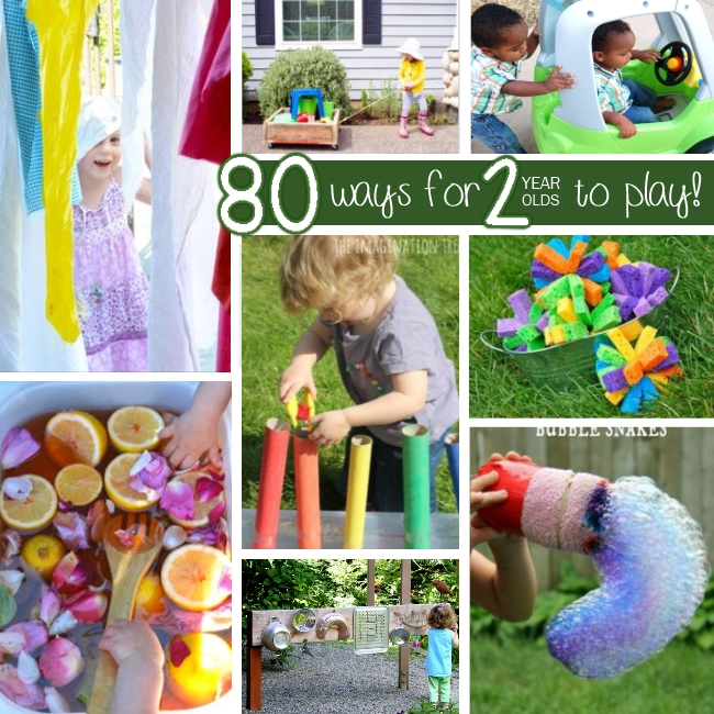 80+ activities for 2 year olds