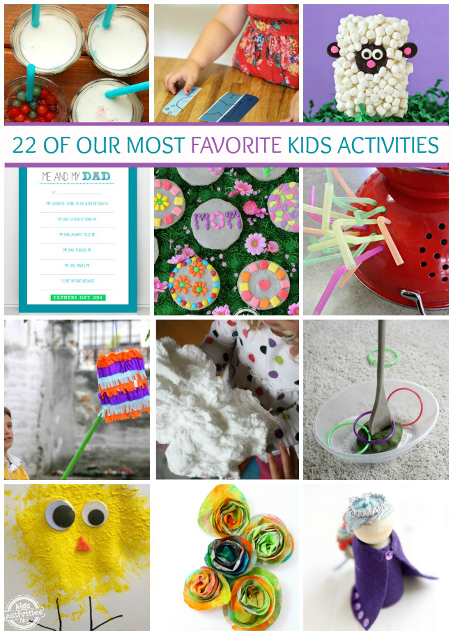 20+ Favorite Kids Activities from Our Contributors