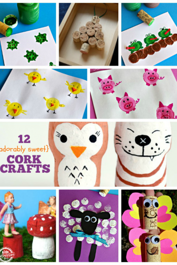 12 Adorable Cork Crafts for Kids