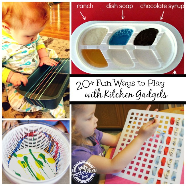 20 Creative Play Ideas For Kids In The Kitchen