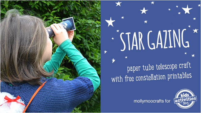 constellation craft and learning activity for kids