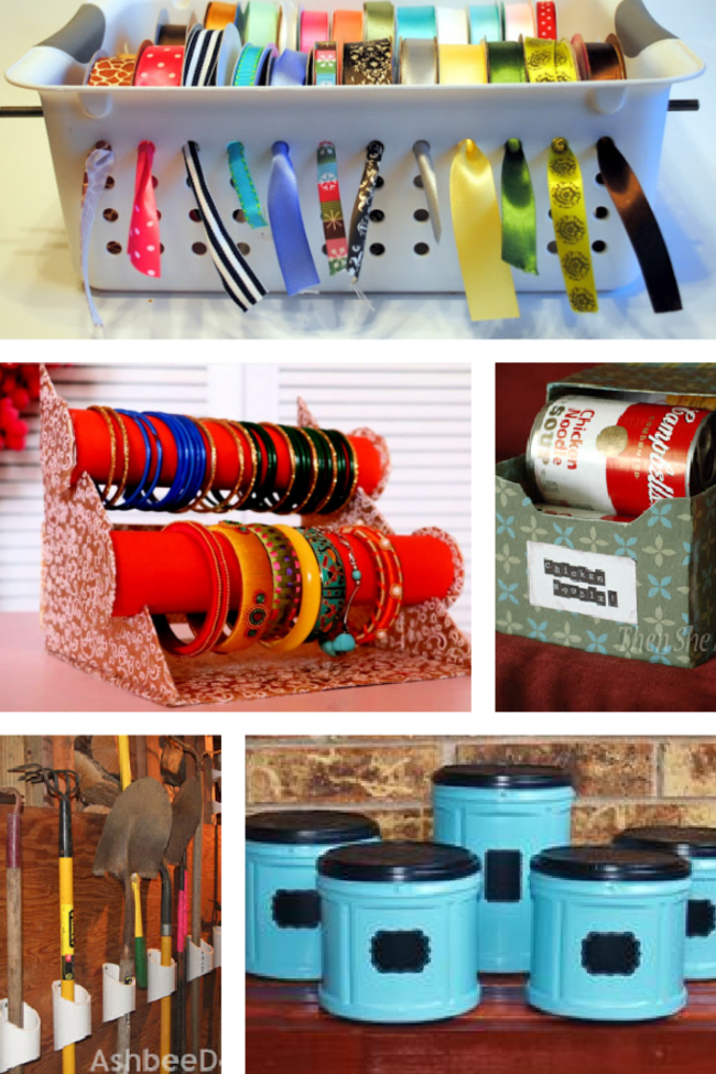25 Simple, Smart & Free Ways to Organize Your Home
