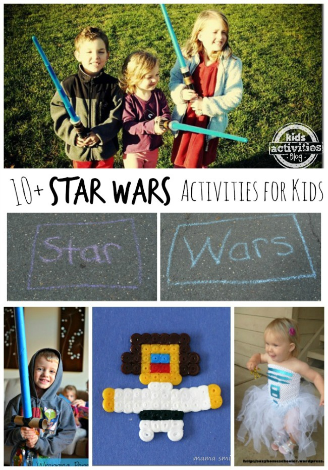 10 Fun Star Wars Activities and Crafts For Kids