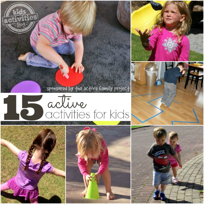 active activities for kids