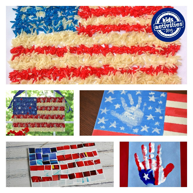 american flag crafts for kids 2