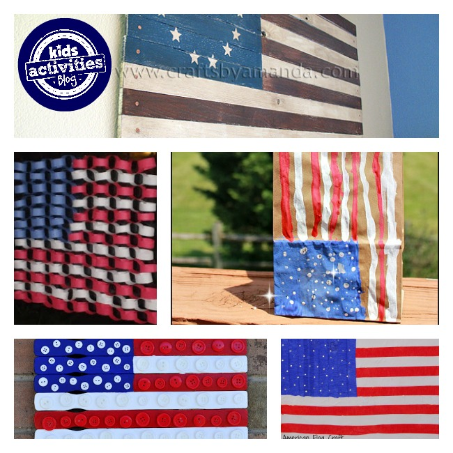 american flag crafts for kids 3