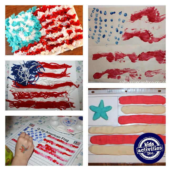 american flag crafts for kids 4