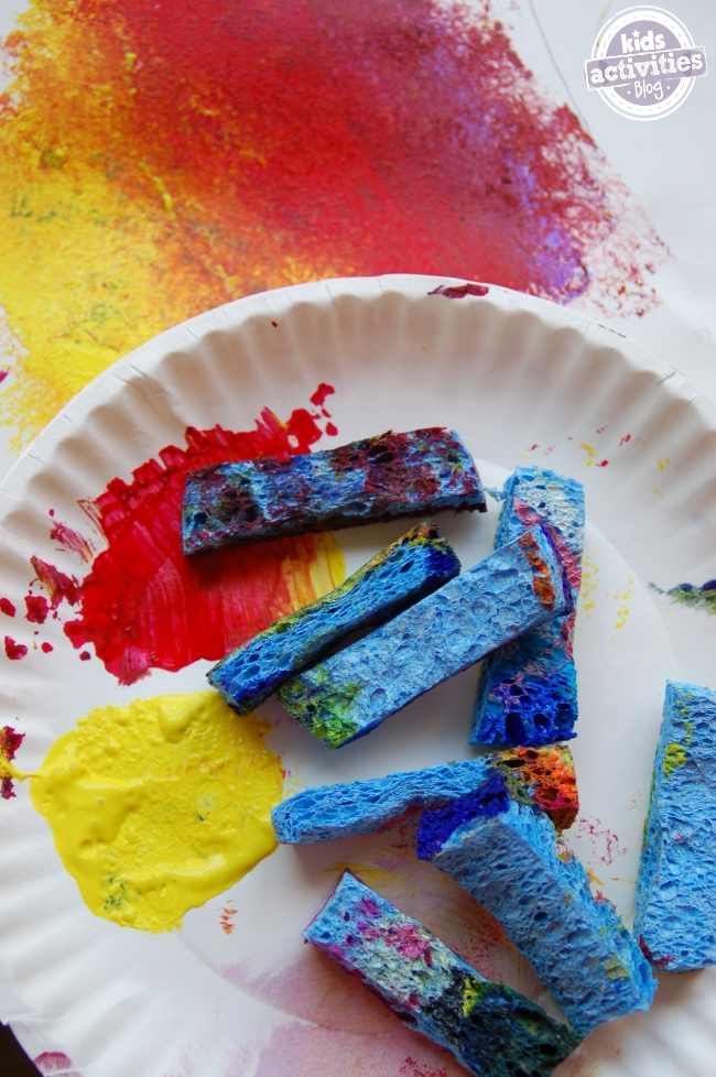 group art project with kids