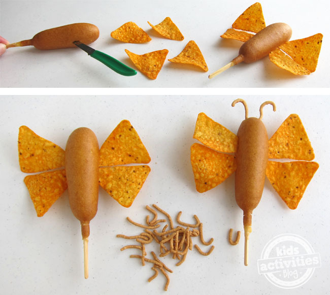 how-to-make-a-corn-dog-butterfly