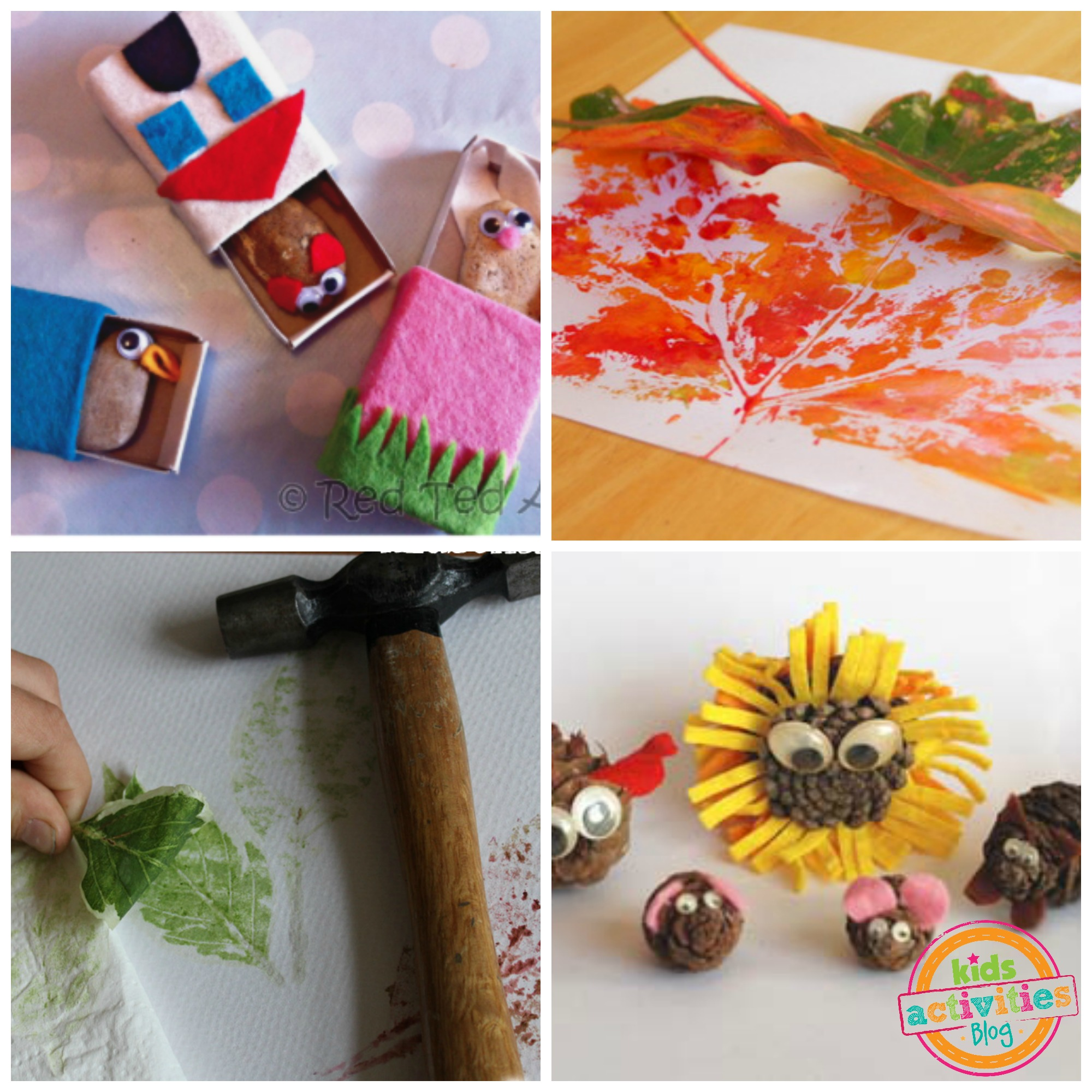 nature crafts kids activities blog