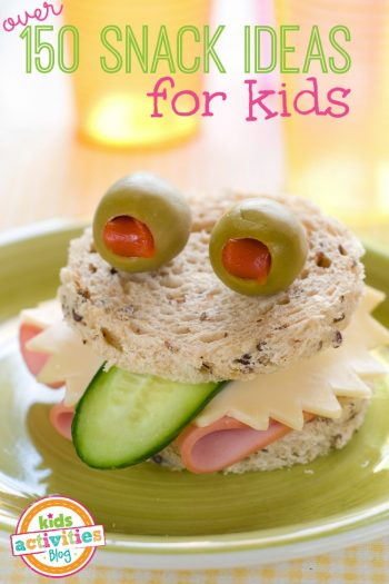 over 150 snack ideas for kids