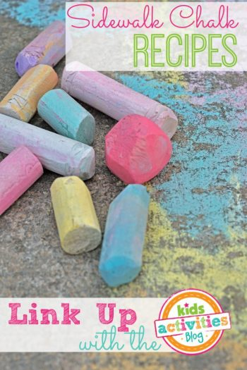 Sidewalk chalk and chalk paint recipes