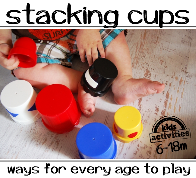 stacking cups baby game