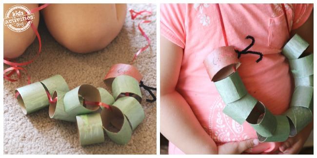 very hungry caterpillar toilet paper roll craft