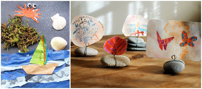 21 Beach Crafts to Make With Your Kids This Summer!