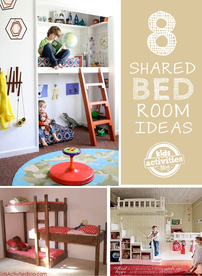 8 shared kids bedroom ideas