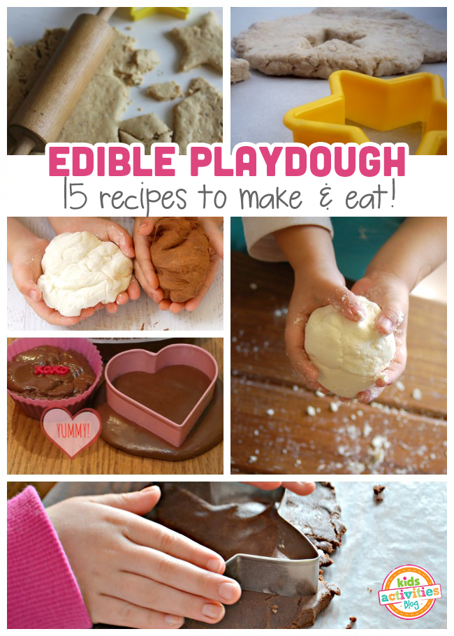 edible playdough recipes for kids