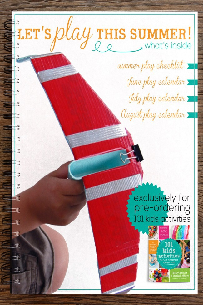 LAST DAY!!!!!!! {Exclusive} Summer Play Pack – Printable Checklist & Calendars