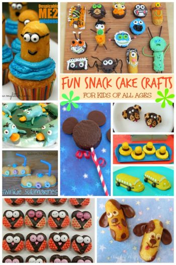 Fun Snack Cake Crafts