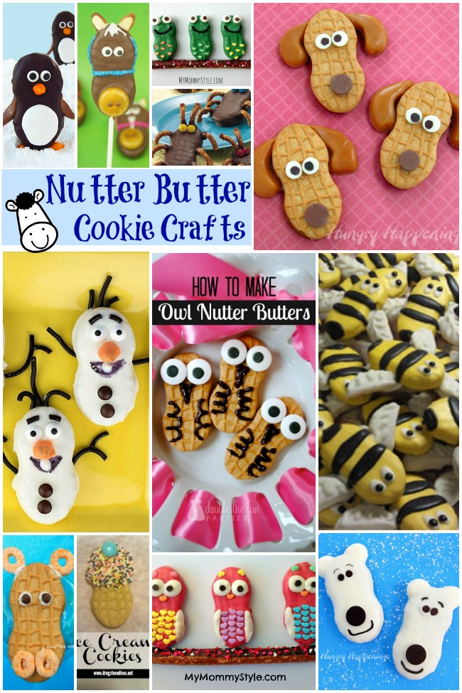 Nutter Butter Cookie Crafts