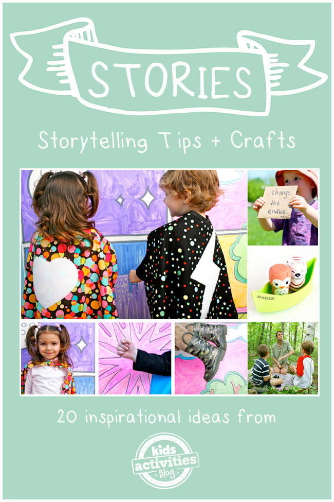 storytelling crafts and tips