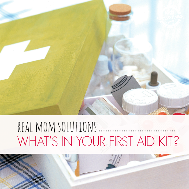 What's in your first aid kit?