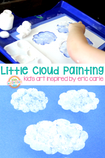 Little Cloud Art Painting Eric Carle