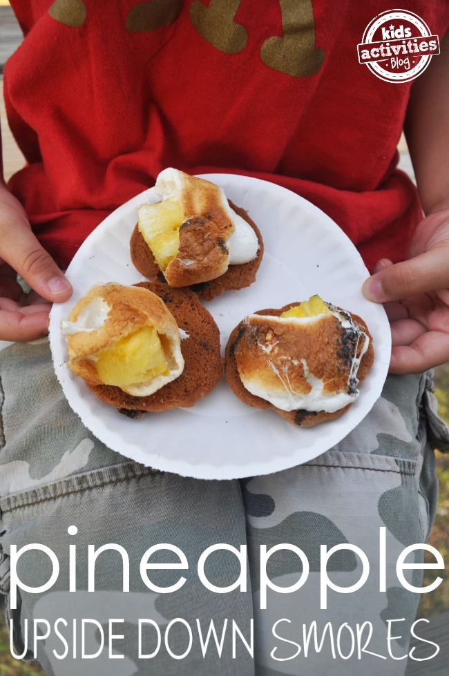 pineapple smores recipe
