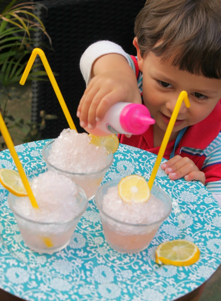 Homemade Slushie Syrup Recipe {The Perfect Summer Snack!}