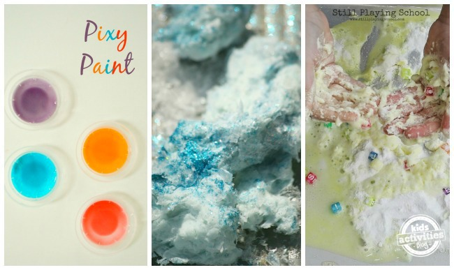 3 simple concoctions and doughs for kids