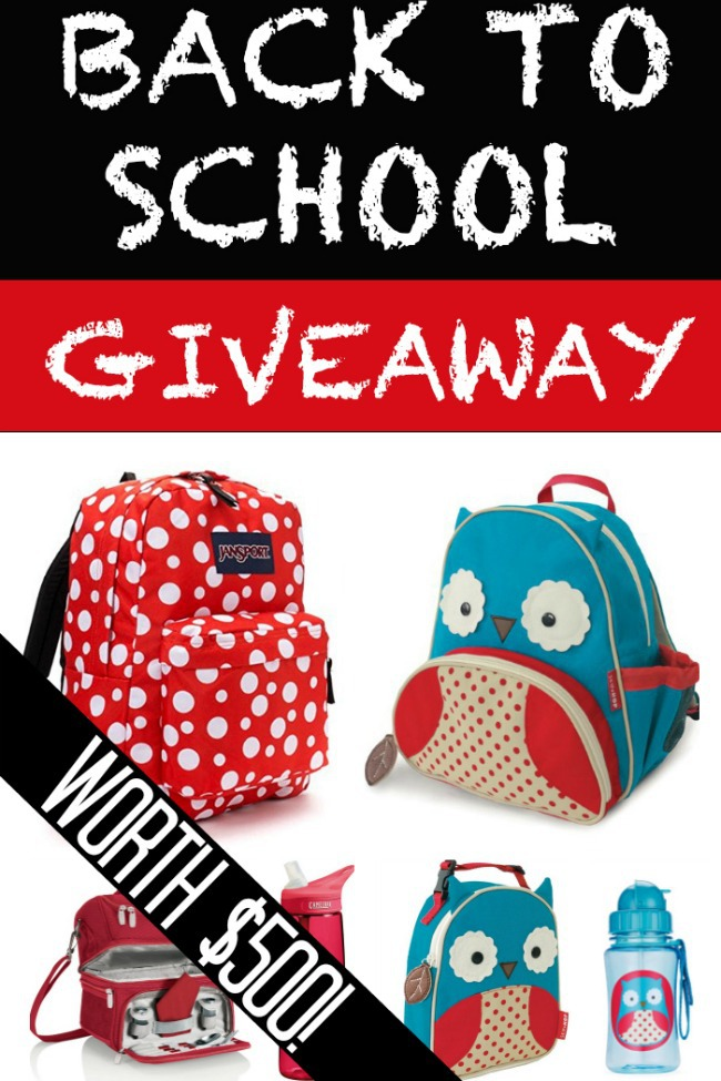 Back To School Giveaway Pack Worth $500!