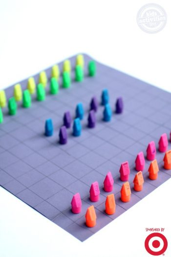School Supply board game - Kids Activities Blog