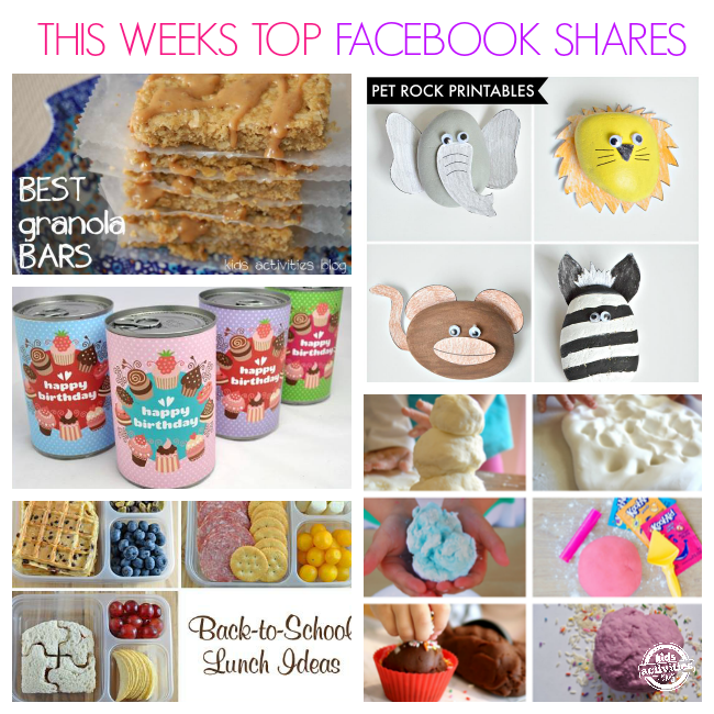 This Weeks Top Facebook Shares