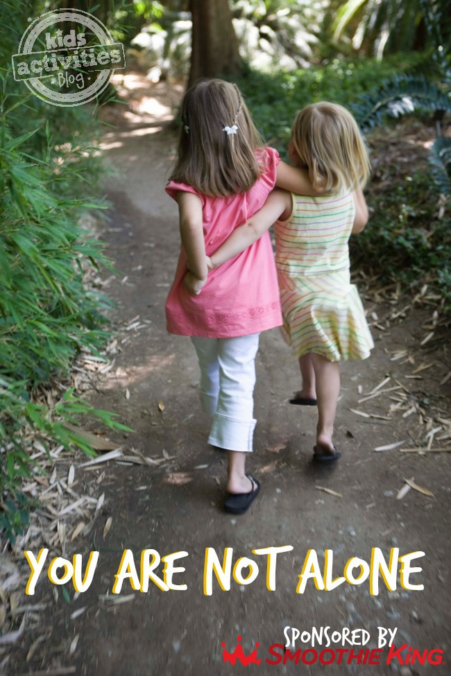 YOU ARE NOT ALONE - KIDS ACTIVITIES BLOG