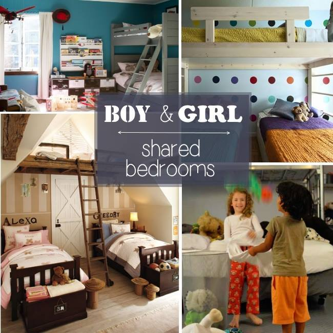 boy girl shared bedroom ideas - Kids Activities Blog