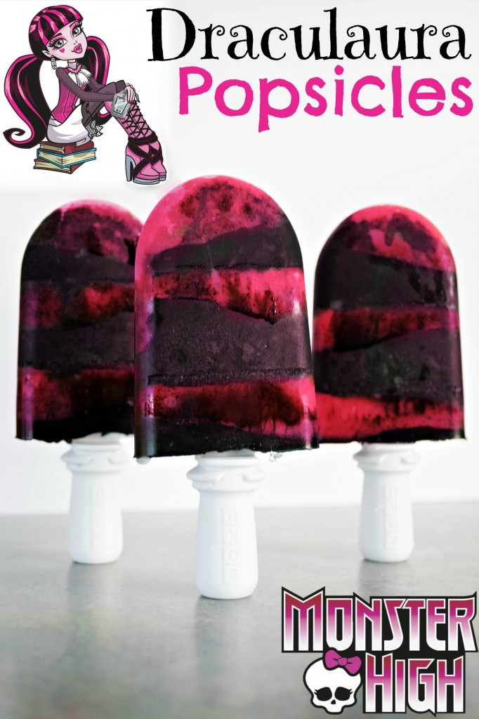 draculaura monster high popsicles popsicles