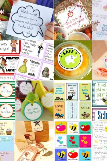 Free Printable Lunchbox Notes To Brighten Your Kid's Day