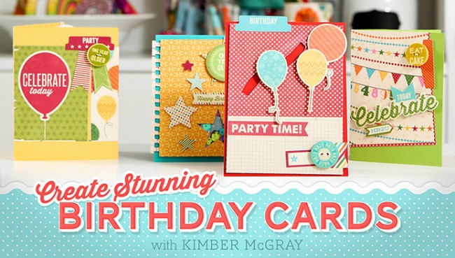 Free Birthday Mini Class From Craftsy